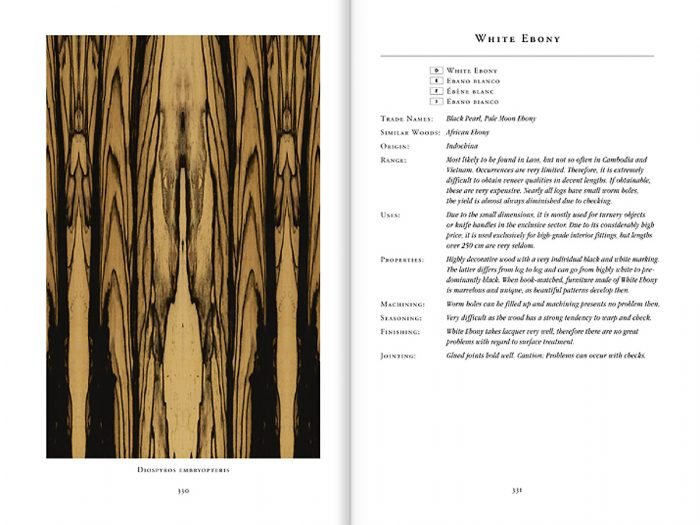 An even wider variety in the new veneer book