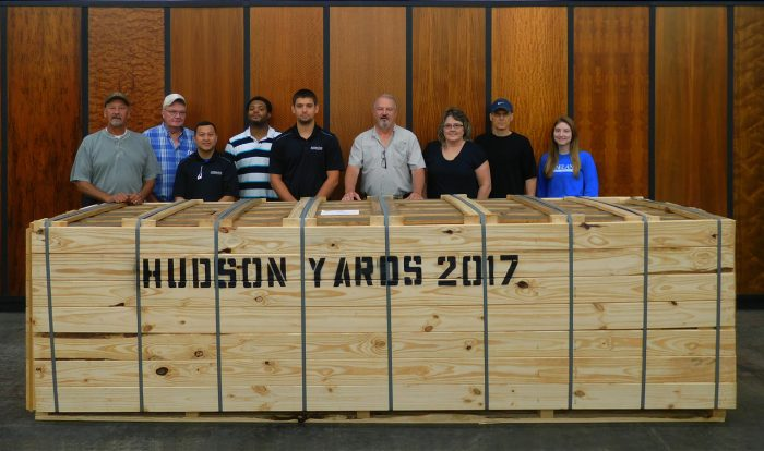 HUDSON YARD, NEW YORK Team